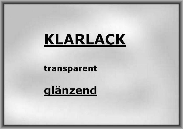 KLARLACK transparent hoch-glänzend