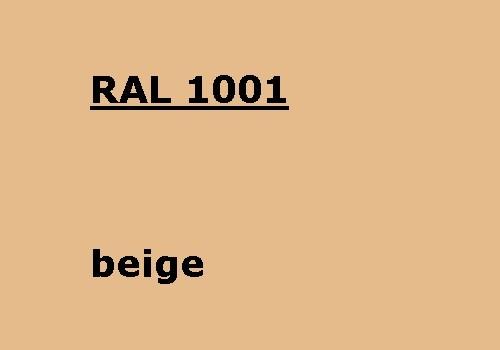 RAL 1001 - beige glatt matt