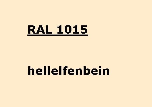 RAL 1015 hell-elfenbein glänzend