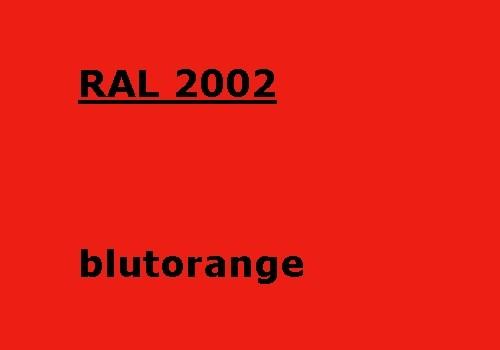 RAL 2002 blut-orange glänzend