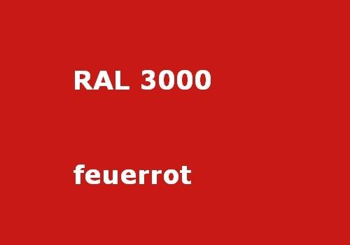 RAL 3000 feuer-rot glatt matt