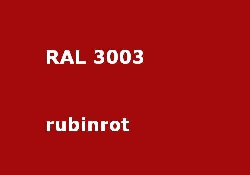 RAL 3003 rubin-rot glänzend