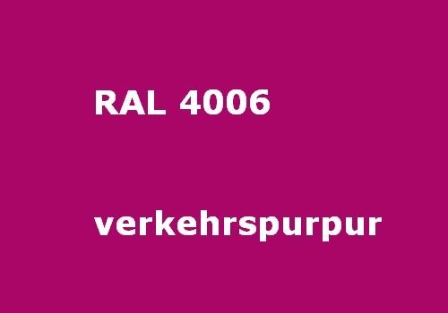 RAL 4006 verkehrs-purpur glänzend