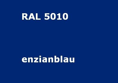 RAL 5010 enzian-blau glatt matt