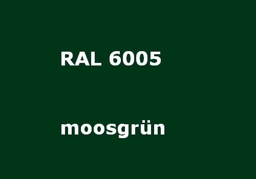RAL 6005 moos-grün glatt matt