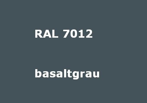 RAL 7012 basalt-grau glatt matt