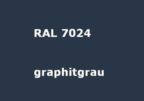 RAL 7024 graphit-grau glänzend