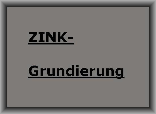 GRUNDIERUNG ZINK-Grundierpulver