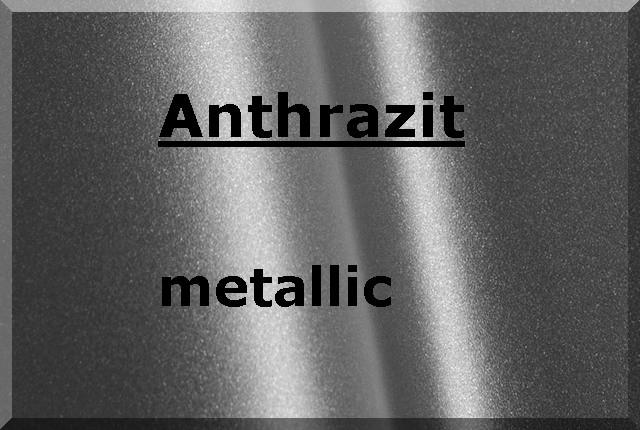ANTHRAZIT Metallic glatt glänzend
