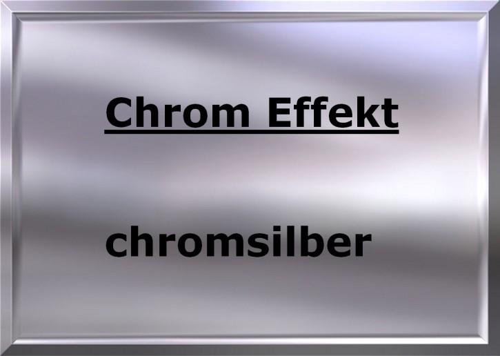 CHROM EFFEKT chromsilber hochglänzend