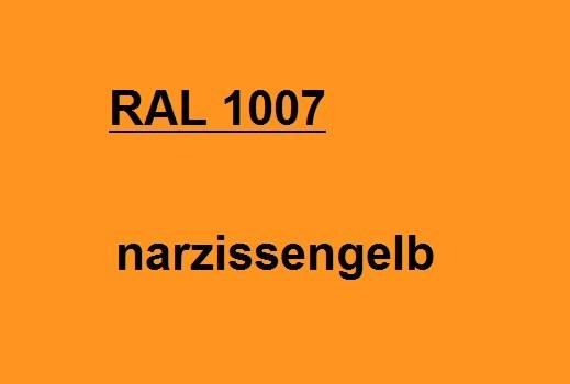 RAL 1007 narzissen-gelb glänzend
