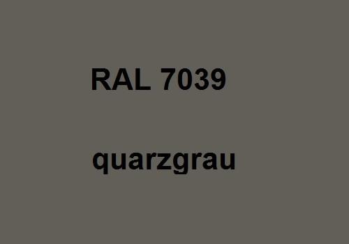 RAL 7039 quarz-grau glänzend