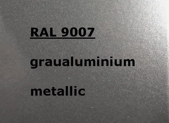 RAL 9007 Silber-grau Metallic glänzend
