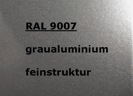 RAL 9007 SILBER-GRAU feinstruktur