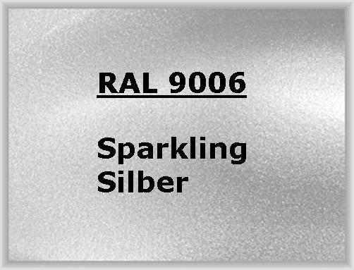 RAL 9006 SPARKLING SILBER glänzend