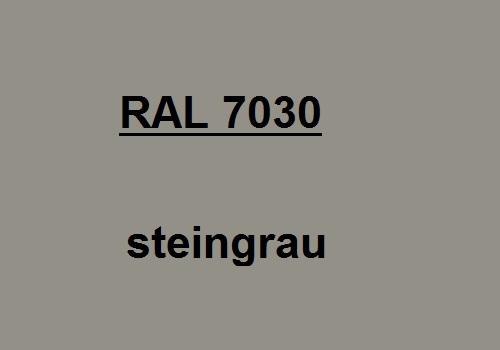 RAL 7030 stein-grau glatt matt