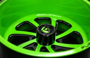 RAL 6038 leucht-grün glatt glänzend