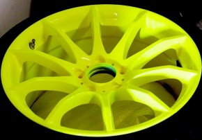 RAL 1026 leucht-gelb glatt glänzend