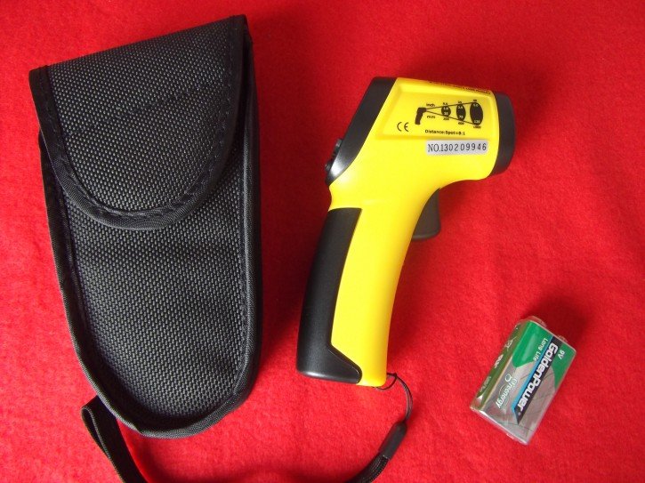 Infrared Thermometer temperature 260