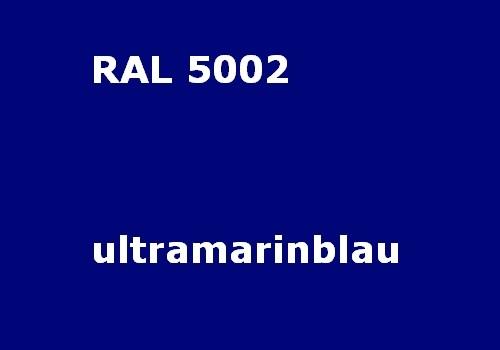 RAL 5002 ultramarine-blue glossy