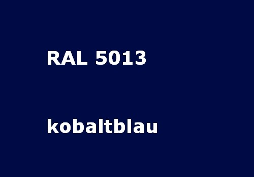 RAL 5013 cobalt - blue glossy