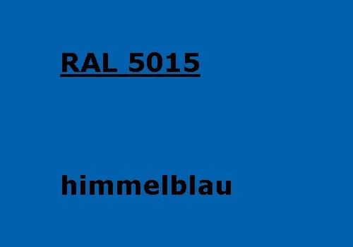 RAL 5015 himmel-blau glänzend