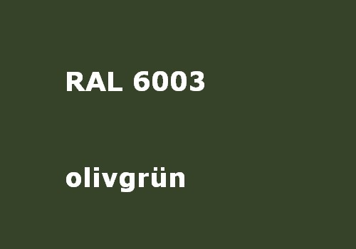 RAL 6003 olive-green glossy