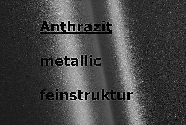 ANTHRACITE metallic textured