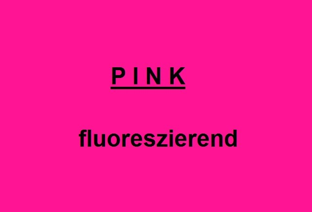 NEON PINK - fluorescent - glossy