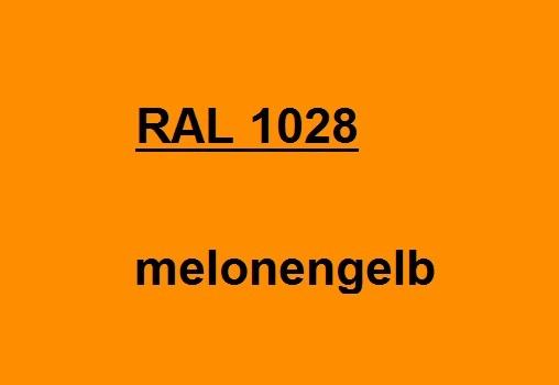 RAL 1028 melonen-gelb glänzend