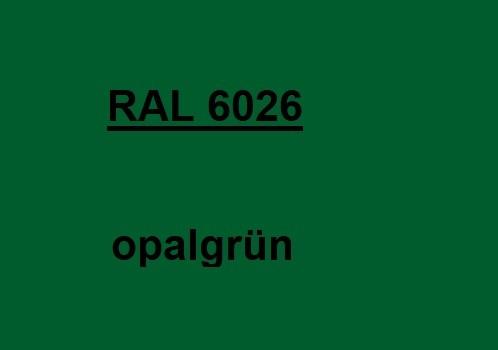 RAL 6026 opal-grün glänzend