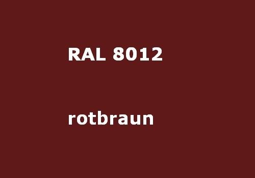 RAL 8012 rot-braun glänzend
