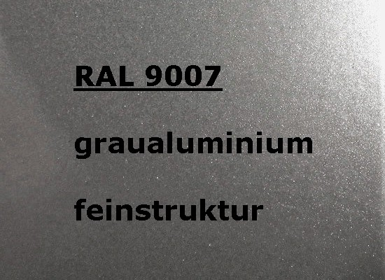 RAL 9007 SILVER-GREY textured